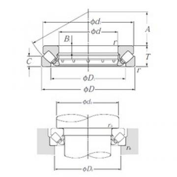 NTN 29396 thrust roller bearings
